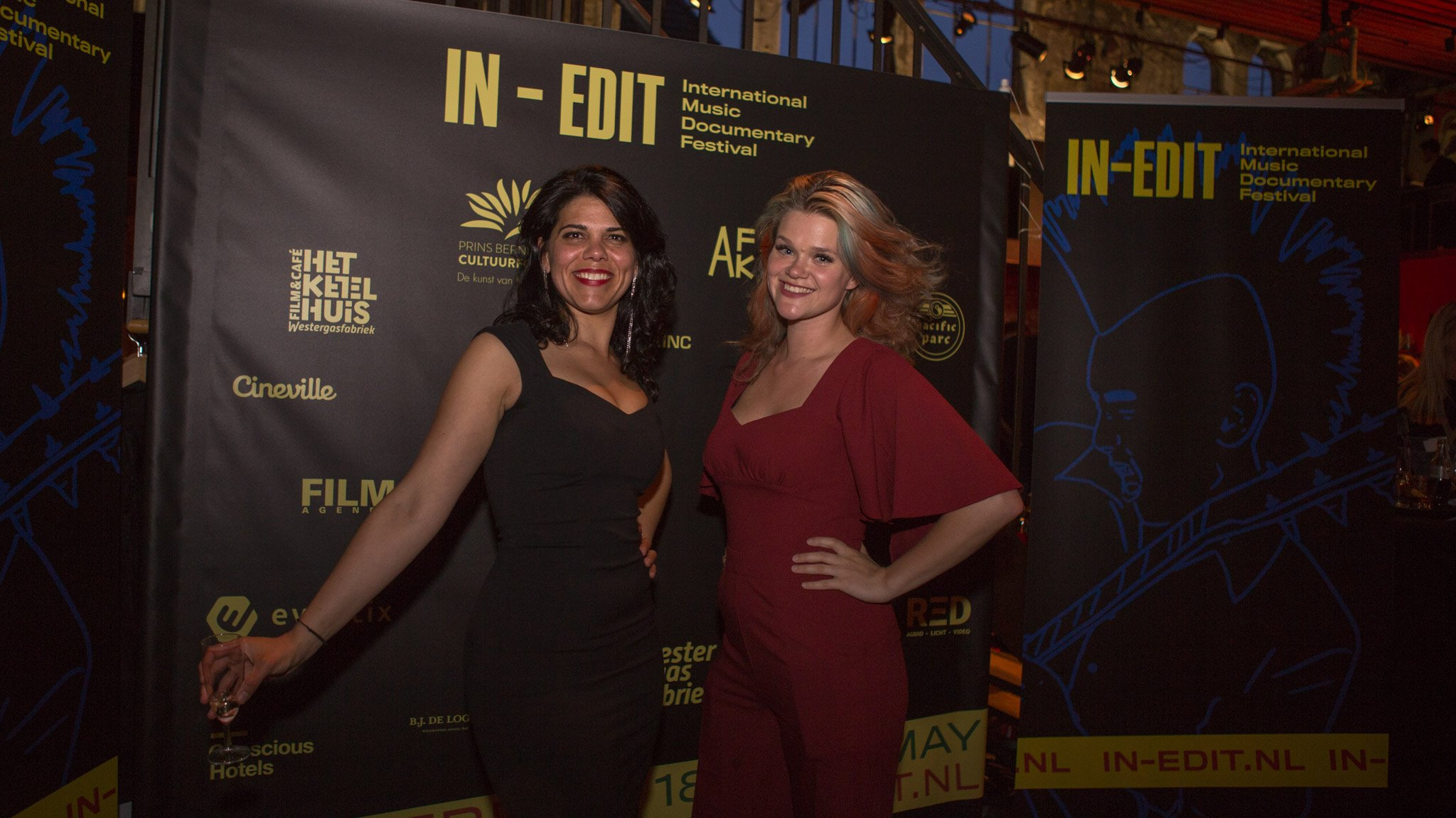 IN-EDIT is back!  Interview with Carla Navarro       and Anna Chvartchenko