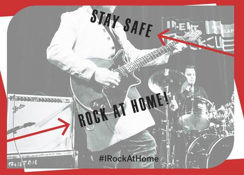 #IRockAtHome: Stream Concerts, Films, Music & More