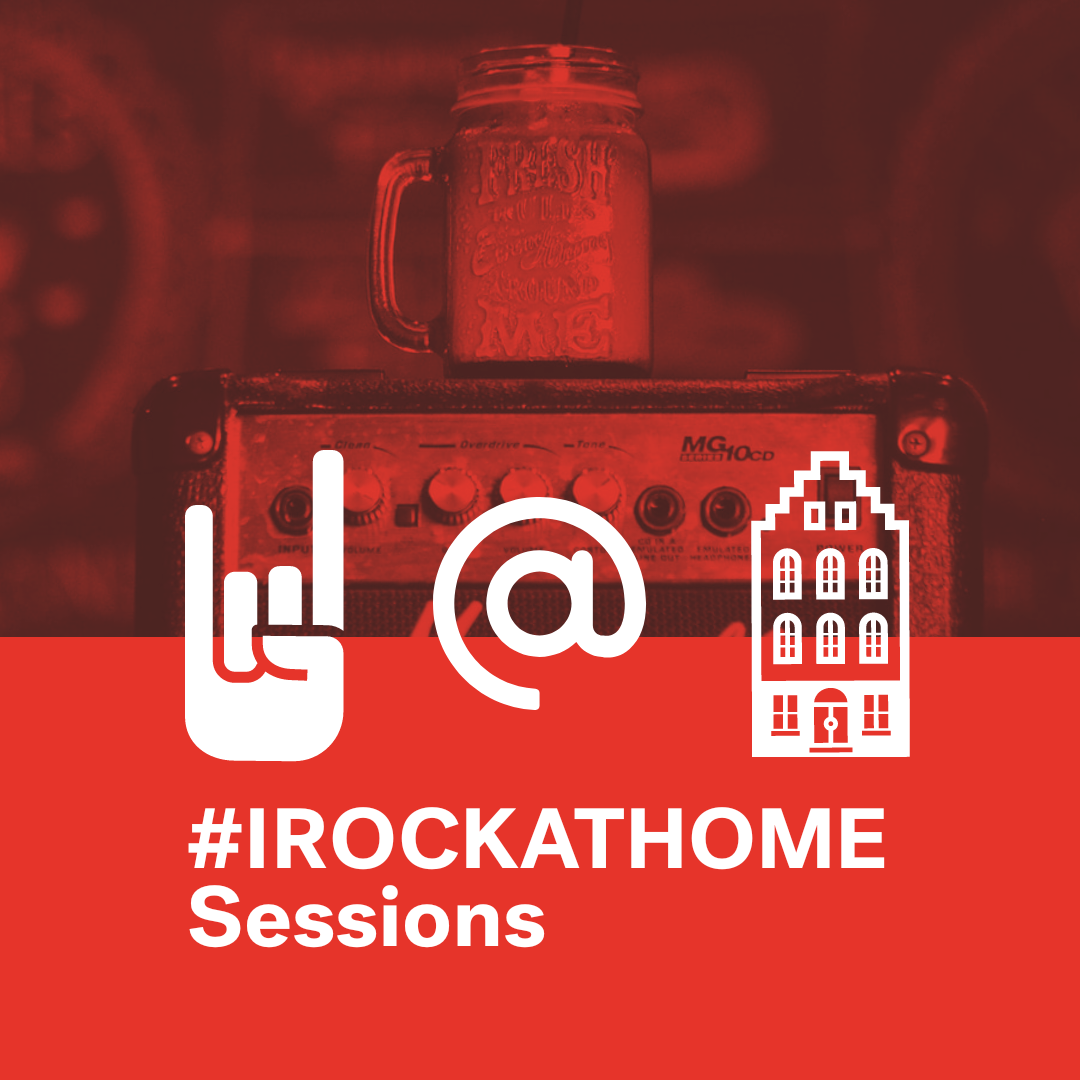 #IRockAtHome sessions schedule