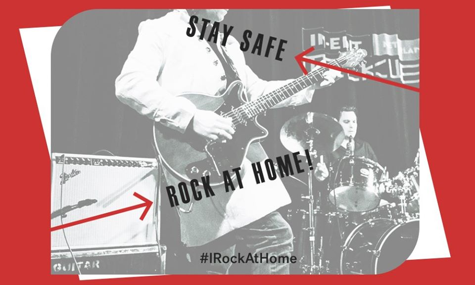 #IRockAtHome: Stream Concerts, Films, Music & More